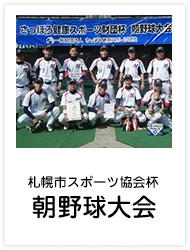 朝野球大会